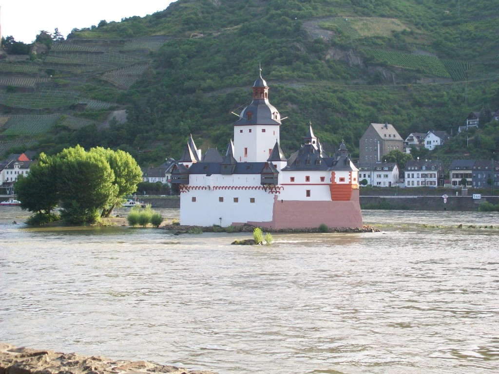 Kasteel in de Rijn