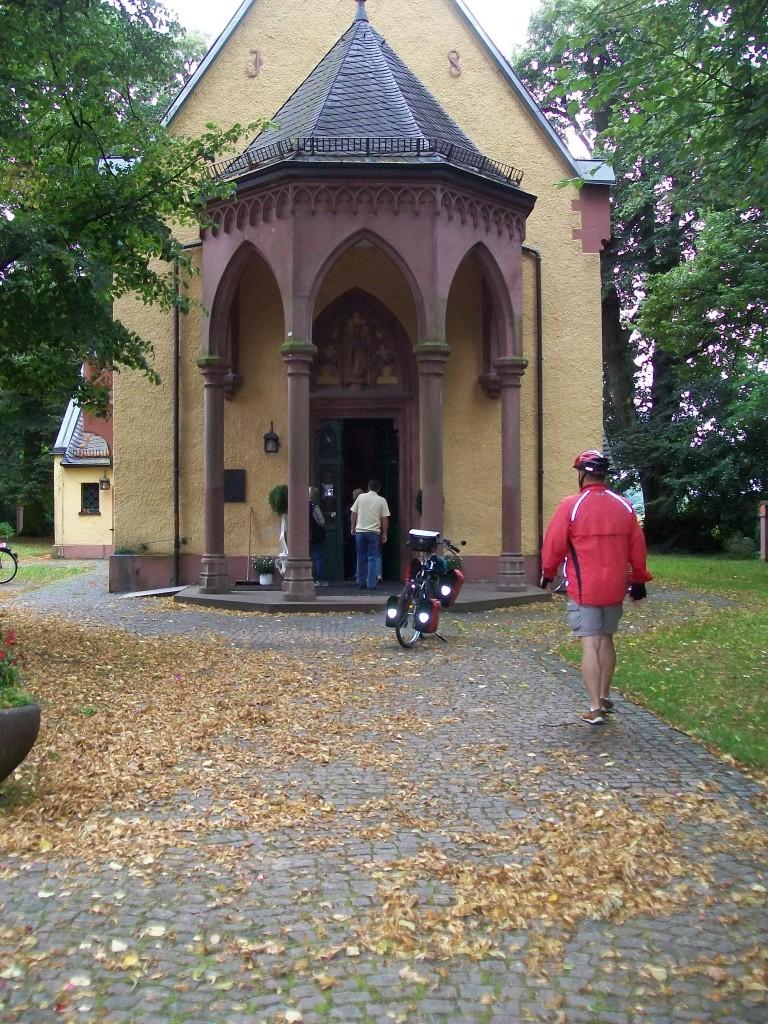 Bij de kapel in Maria Einsiedler