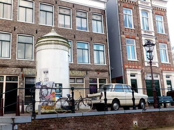 Amsterdamse grachtenpanden in het Nederland Openlucht Museum