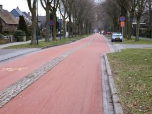fietsstraat in Oss