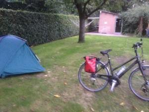 Camping uitgerust