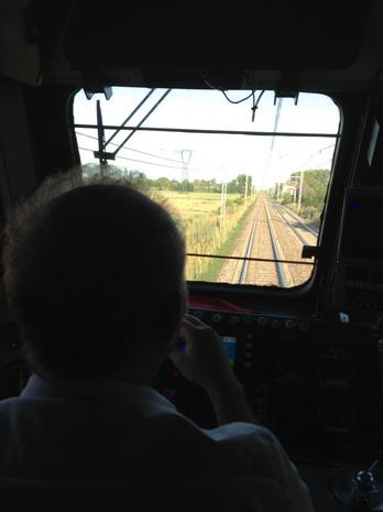 Voor in de trein maar Florance