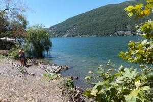 Strandje aam Lago Maggiore