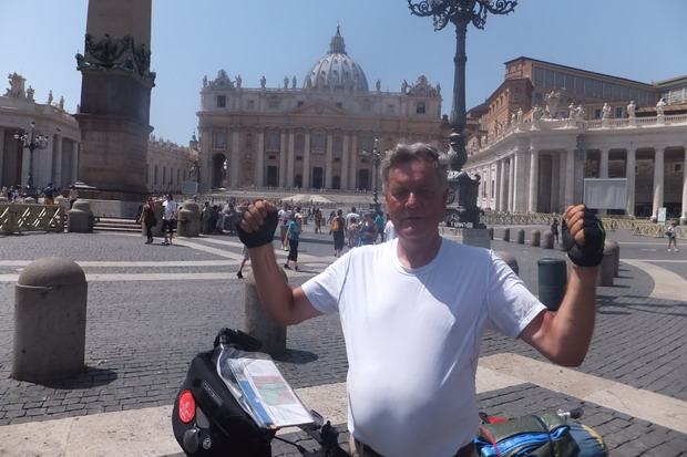 Voor de 3e keer Rome