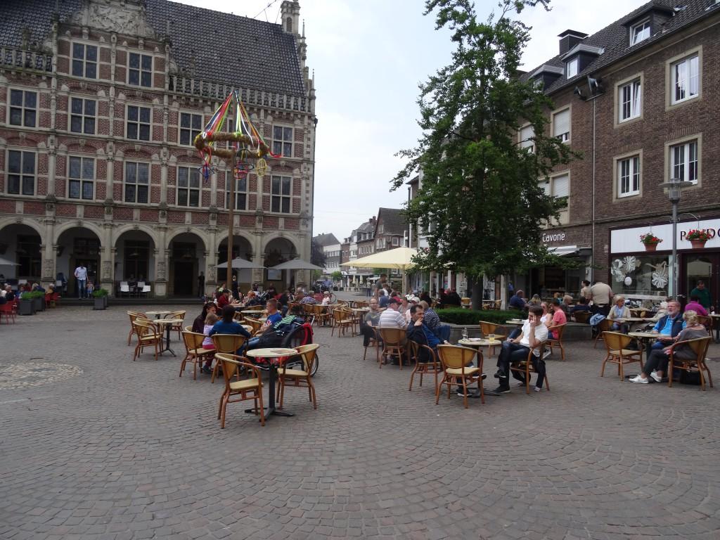 Oude Raadhuis in het centrum van Bocholt