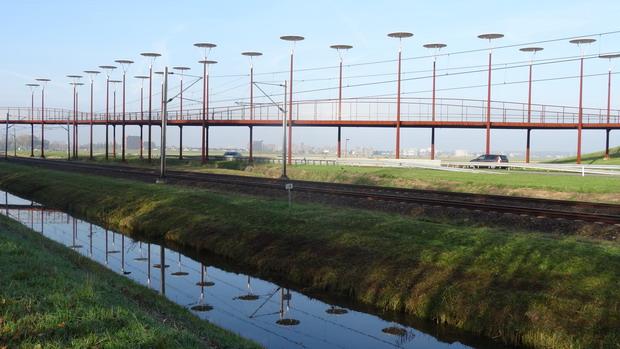 Buiten Zoetermeer is Den Haag al te zien