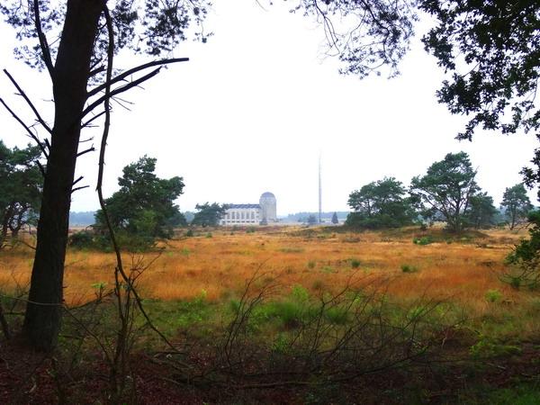 Zendgebouw van Radio Kootwijk